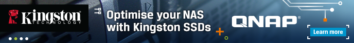 Optimise your NAS with Kingston SSD