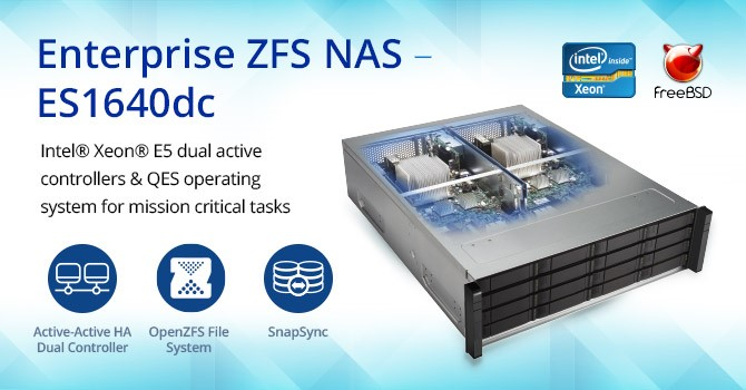 Enterprise ZFS NAS ES1640dc